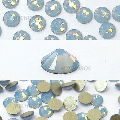 144 Swarovski 2058 5ss crystal flatbacks rhinestones ss5 AIR BLUE OPAL (285)