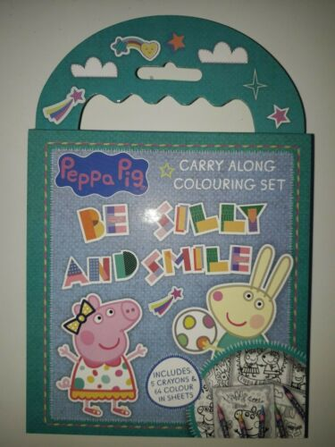 Colouring Set Kids Crayons Carry Along Holiday Mini Activity Pack Party Bags