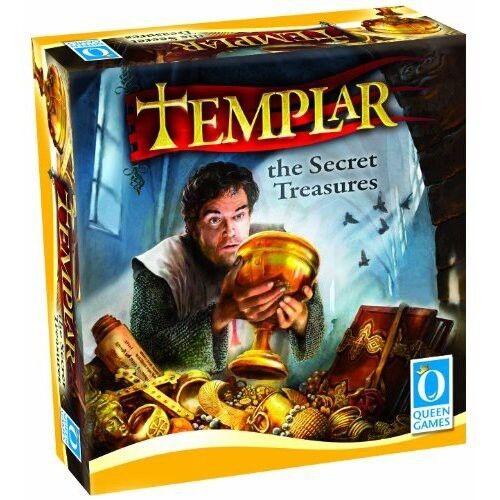 Templar  The Secret Treasures - Queen Games Board Game New