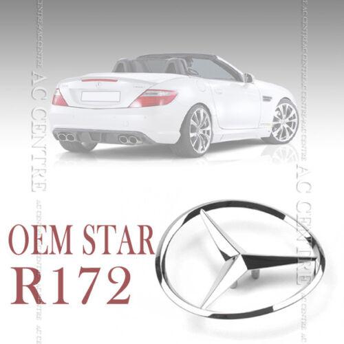 GENUINE OEM REAR TRUNK STAR LOGO EMBLEM for ALL MERCEDES BENZ SLK CLASS R172 AMG