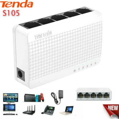 Computers, Tablets & Network Hardware Tenda S105 Ethernet Switch ...
