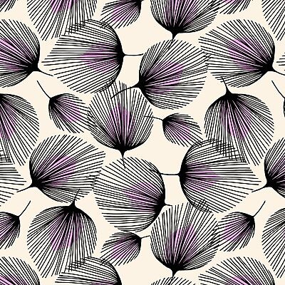 PVC TABLE CLOTH FEATHERS PURPLE LILAC BERRY BLACK CREAM WHISPER WIPE ABLE COVER
