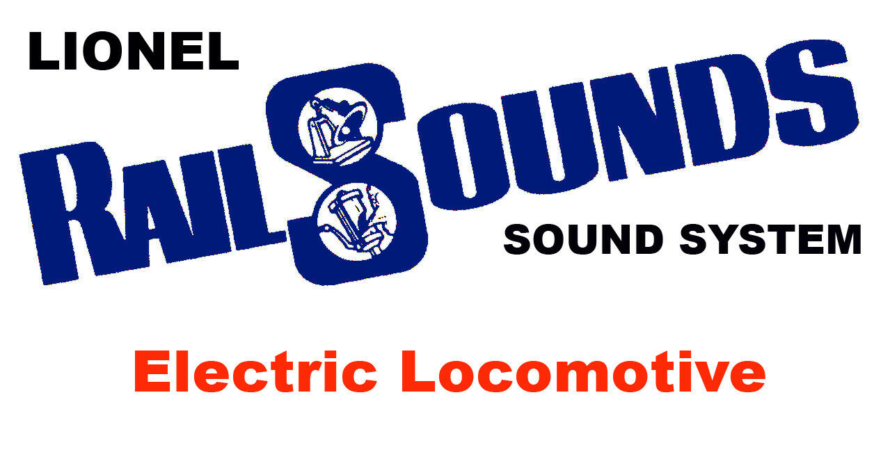Lionel Electric Locomotive järnvägLjudsystem