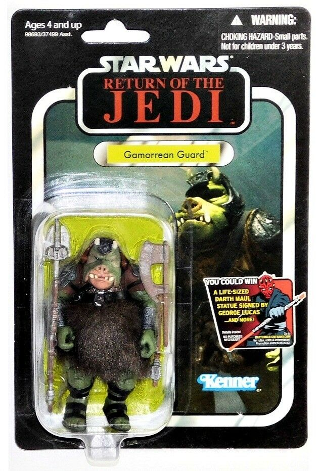 Star Wars Vintage Collection VC21 Return of the Jedi Jedi Jedi Gamorrean Guard Figure  889d34