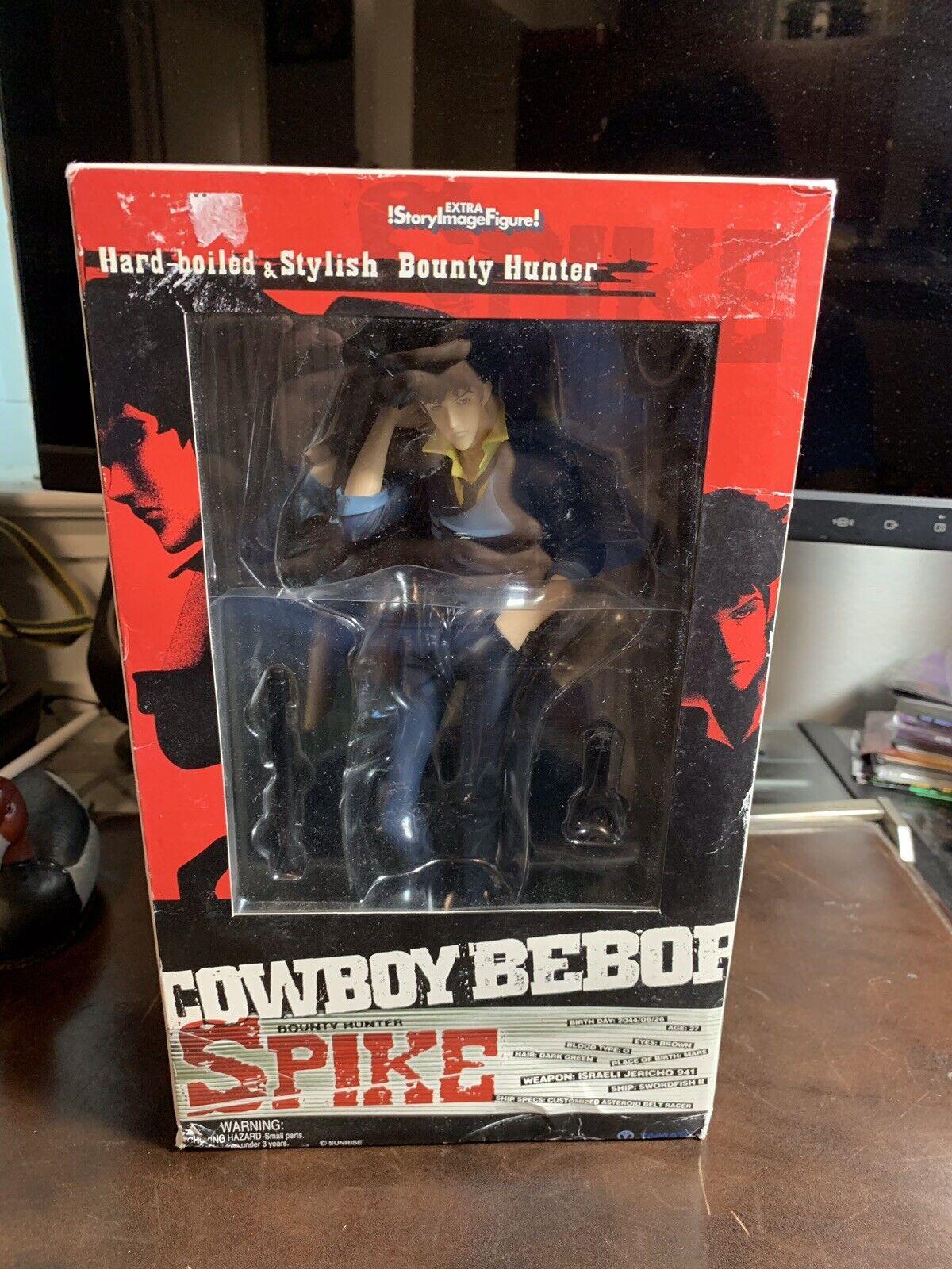 Cowboy Bebop Spike Spiegel Story Image Figure Extra  PVC Statue 2005 Yamato NEW