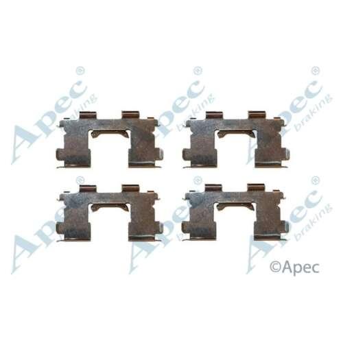 GENUINE OE QUALITY APEC Plaquettes Frein Avant Accessoire Kit de montage-KIT437