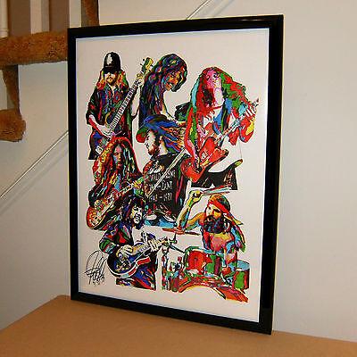 Lynyrd Skynyrd Sweet Home Alabama Rock Music Poster Print Wall Art 18x24 Ebay