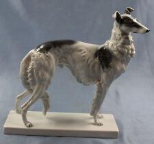 Porzellanfigur Barsoi Windhund Figur hund Rosenthal Fritz borzoi porzellan