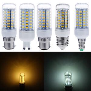 E14-E27-G9-B22-GU10-5730-SMD-9W-12W-15W-Puce-Mais-Light-Bulb-Spot-Lampe-220V