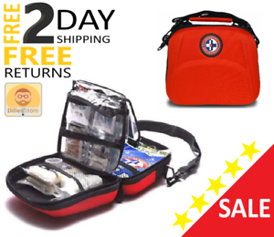 Military First Aid Survival Kit Case Medical Equipment for Home Camping 303 Pcs