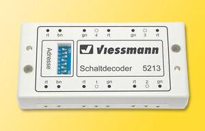Viessmann 5280 Multiprotokoll Schalt und Weichendecoder Fabrikneu