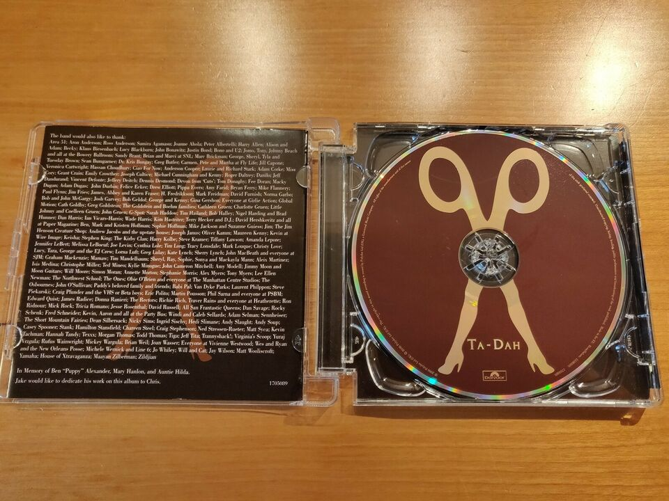 Scissor Sisters: Ta-Dah, electronic