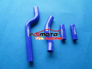 Silicone-Radiator-Hose-for-Yamaha-YZ250-YZ-250-2-stroke-2002-2012-03-04-05-Blue