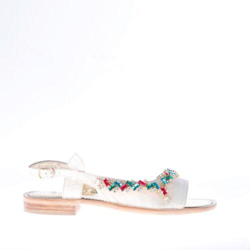 Shoes Strass Pelle Positano Scarpe In Mastrodomenico Women E Carne Donna Sandalo vpSFtq