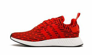 795bb05fdea996 Adidas NMD R2 PK Primeknit Red White Size 11.5. BY2098 yeezy ultra ...