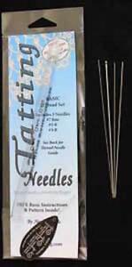 HANDY HANDS Basic Lace Tatting Needle Set of 4 Needles