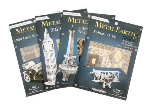 Spirit Of Saint Louis Kit Metallo 3D Edizione D/'Argento Metal Earth 1043
