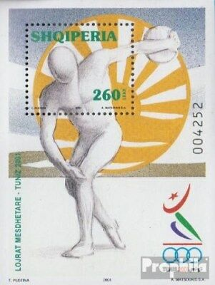 100% Quality Albania Block134 (complete.issue.) Unmounted Mint / Never Hinged 2001 Sports Gam Buy One Get One Free