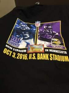 promo code f4931 9d9e9 Details about NEW Minnesota Vikings 1st Monday Night Game U.S. Bank Stadium  Tee Shirts CHEAP