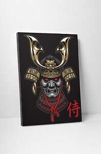Japanese-Shogun-Samurai-Gallery-Wrapped-Canvas-Print-Wall-Art