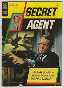 M0472: Secret Agent #1, Vol 1, VF/VF+ Condition