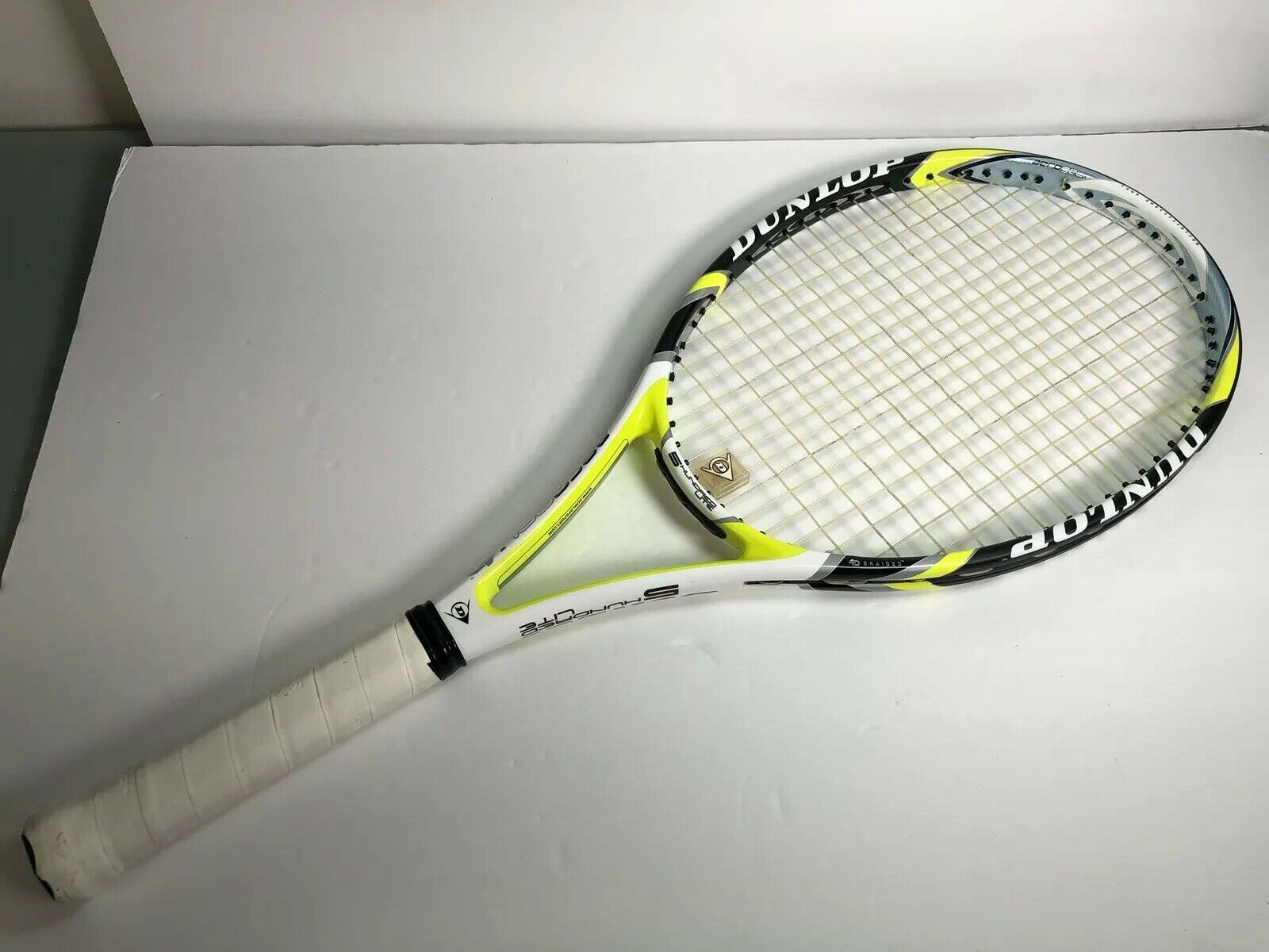 Dunlop Aerogel 4D 500 Lite 100 cabeza 4 1 4 Tenis Raqueta Bolsa de patrón de agarre 16x18
