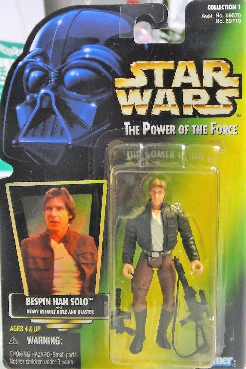 STAR - WARS - STAR BESPIN HAN SOLO - NEW 1997 - The Power of the Force 4835c1