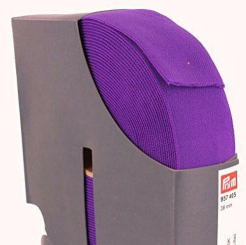 Prym pretina elástica de 38mm de ancho 12 Colores y Multicompra libre UK FRANQUEO