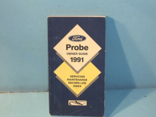 91 1991 Ford Probe owners manual