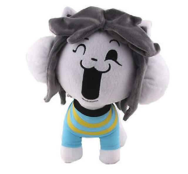 "10"" Undertale Temmie Plush Toy Stuffed Doll Plushie Soft XMAS Kids Gifts New"