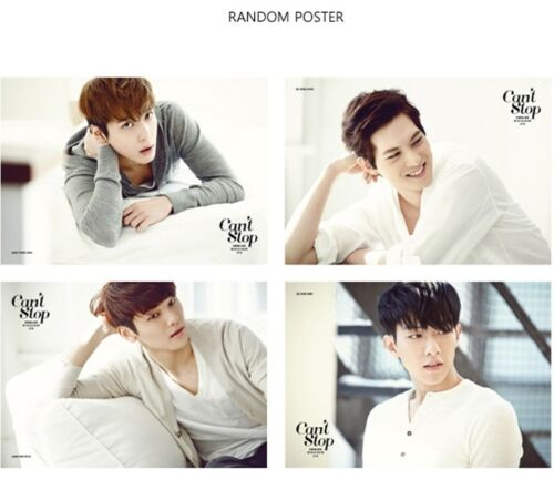 :CD w// NEW photos /& Standing Paper+Poster CNBLUE CAN'T STOPⅡ Mini Album PART 2