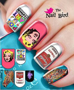 Nail wraps nail art nail decals nail transfers mixed set 20 andy image is loading nail wraps nail art nail decals nail transfers prinsesfo Choice Image