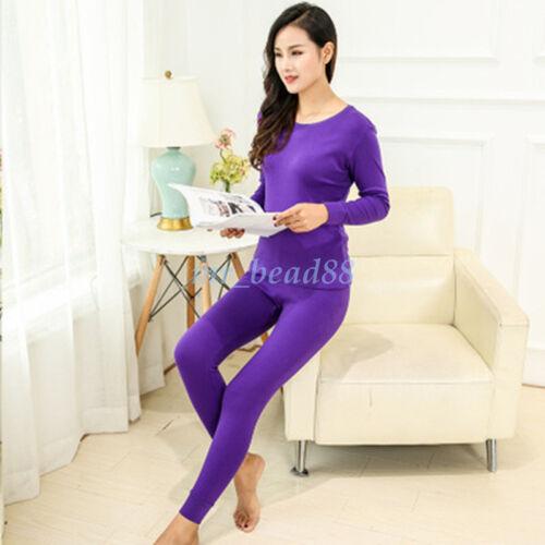 Wholesale Mens Womens 2Pc Thermal Underwear Set Long Johns Top Bottom Pants New
