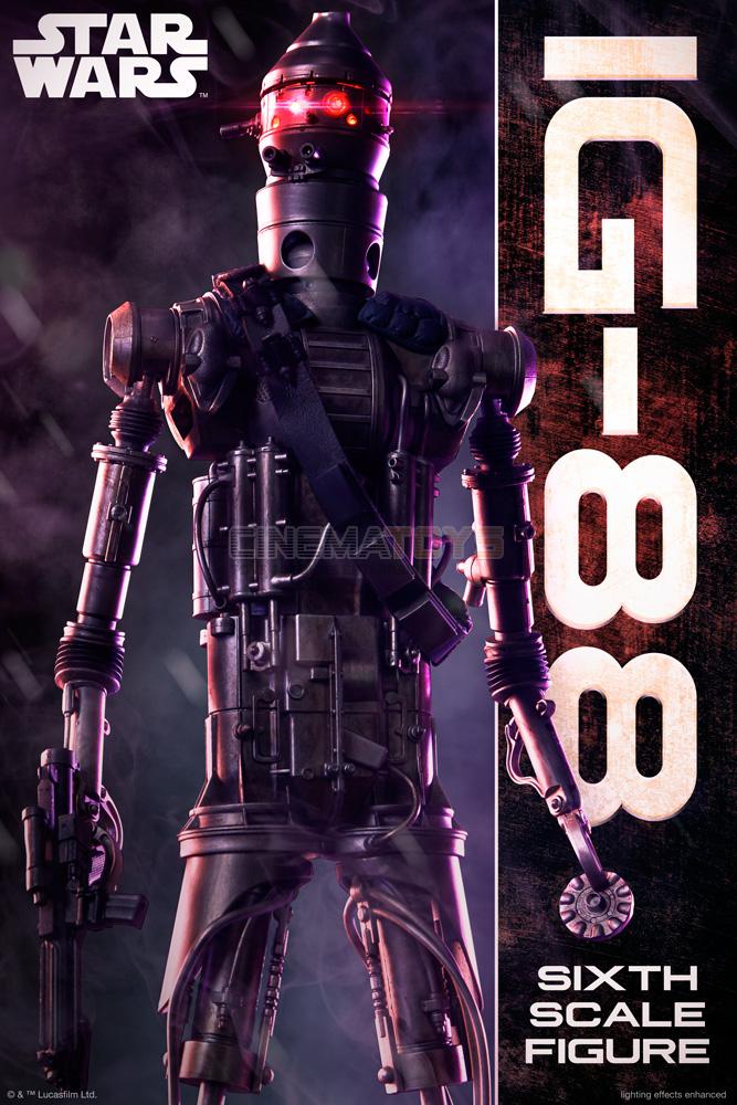 Star Wars IG-88 Droid Bounty Hunter Scum & Villain 1/6 Action Figure SIDESHOW
