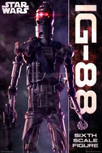 estilo clásico Estrella Wars IG-88 Droid Bounty Hunter Scum & Villain 1 1 1 6 Acción Figura SIDESHOW  tienda en linea