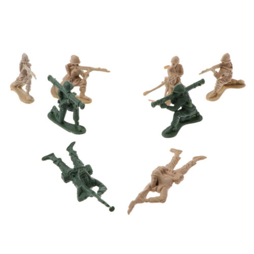 158 Stück Armee Basis Set 5cm Soldaten /& Assorted Accs Panzer Helikopter