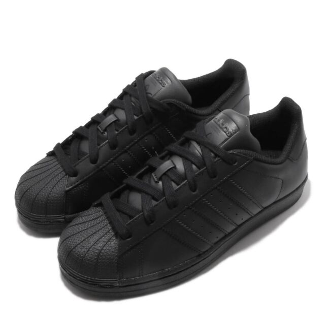 Adidas Originals Superstar Triple Black Men Women Classic Casual