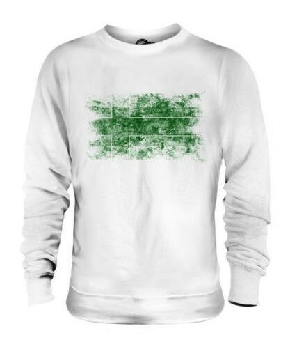 Ladonia Bandera Apenada Unisex Suéter Regalo de Fútbol Camiseta Ropa Jersey