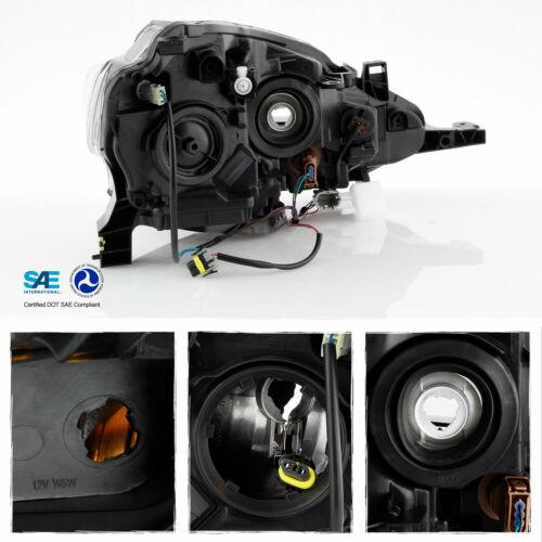 For 2016 2017 2018 Sentra Black Clear Headlight Driver Left Side Halogen Type