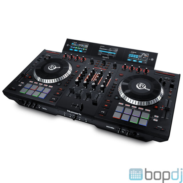 numark ns7iii 4 channel dj controller for sale online ebay. Black Bedroom Furniture Sets. Home Design Ideas