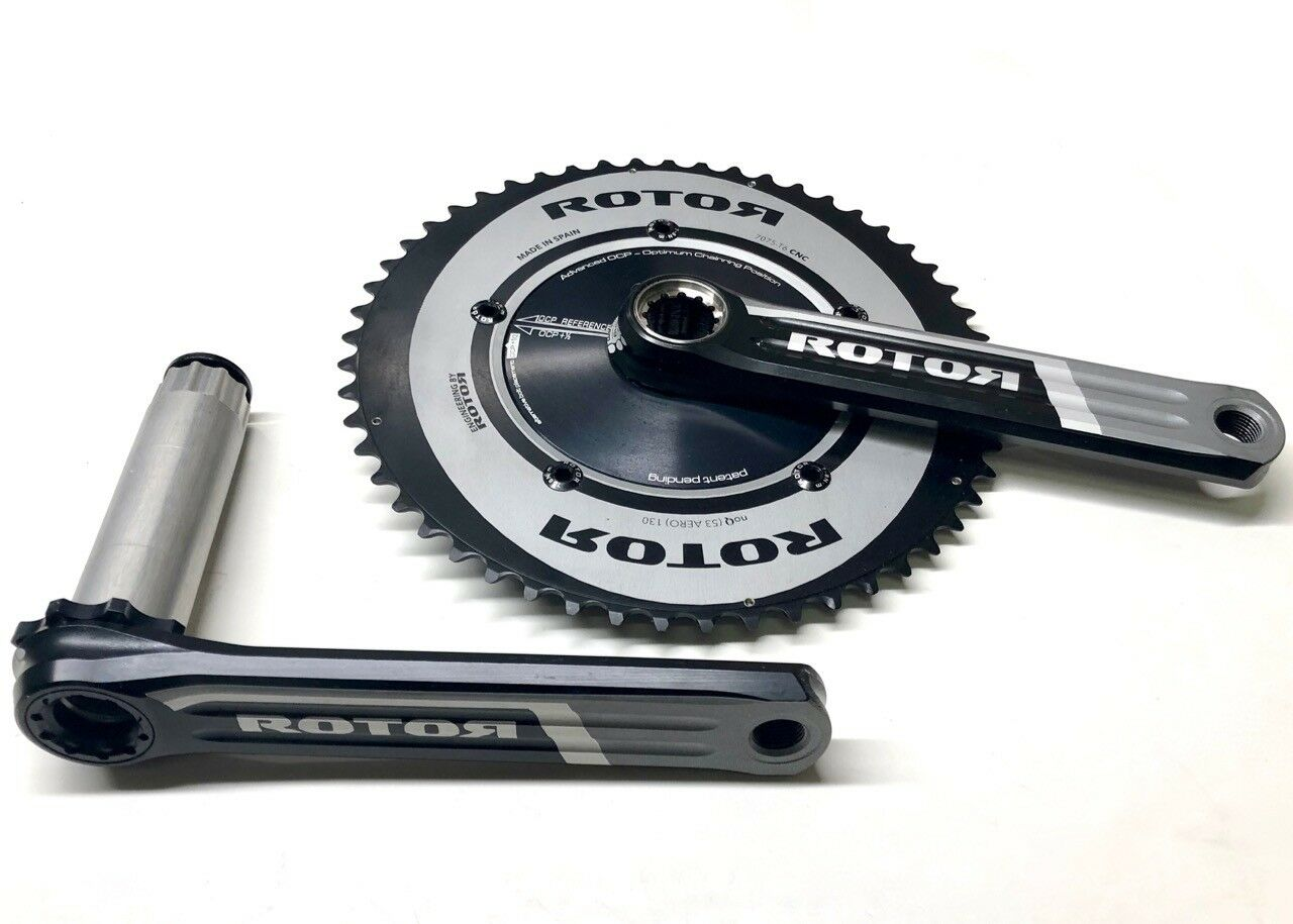 redOR 3D AERO 53 39 130BCD crankset, 172.5mm crank arms, BBright or BB30, NEW
