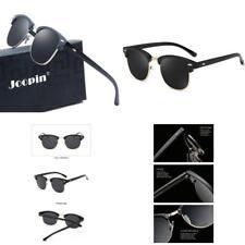 bae976f115 Joopin Semi Rimless Polarized Sunglasses Women Men Brand Vintage Glasses  Plaroid