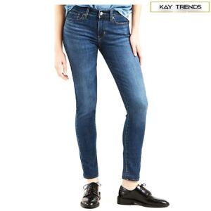 Levi-039-s-Damen-711-Skinny-Stretch-Mid-Rise-Skinny-Jeans-Astro-Indigo-w28-l32