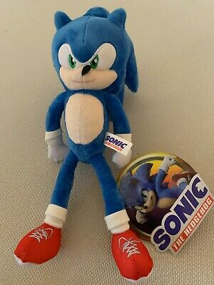 New 2020 Sonic The Hedgehog Knuckles Plush 6x5x12 Original Toy