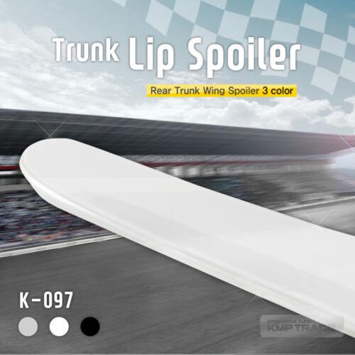 Aero Parts Rear Trunk Lip Spoiler Molding for HYUNDAI 2006-2011 Azera TG