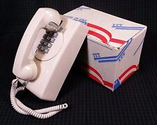 NEW Vintage Retro ITT Cortelco Pushbutton Wall Mount Telephone