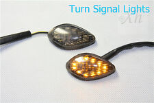 Smoke Flush Mount LED Turn Signals Light For Honda CBR 919 CBR 600 F3/F4/F4i
