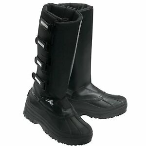 8cd90c359c2 Equi-Theme Winter Long Yard Boots In Black Various Sizes Available ...