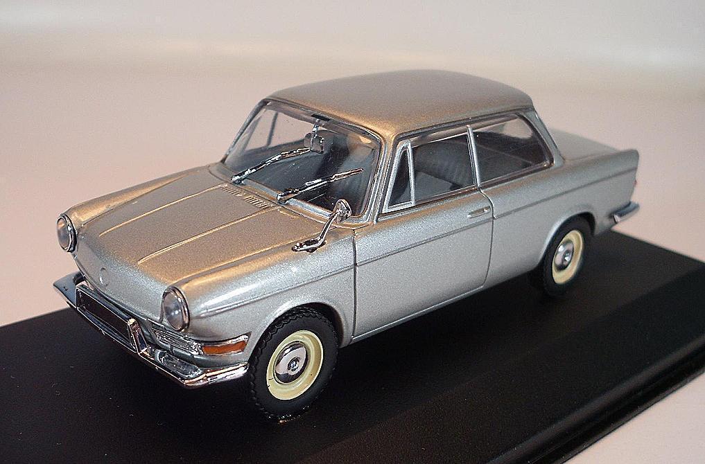 Minichamps 1 43 BMW 700 LS 1962 65 silber in OVP  1400    Die Qualität Und Die Verbraucher Zunächst