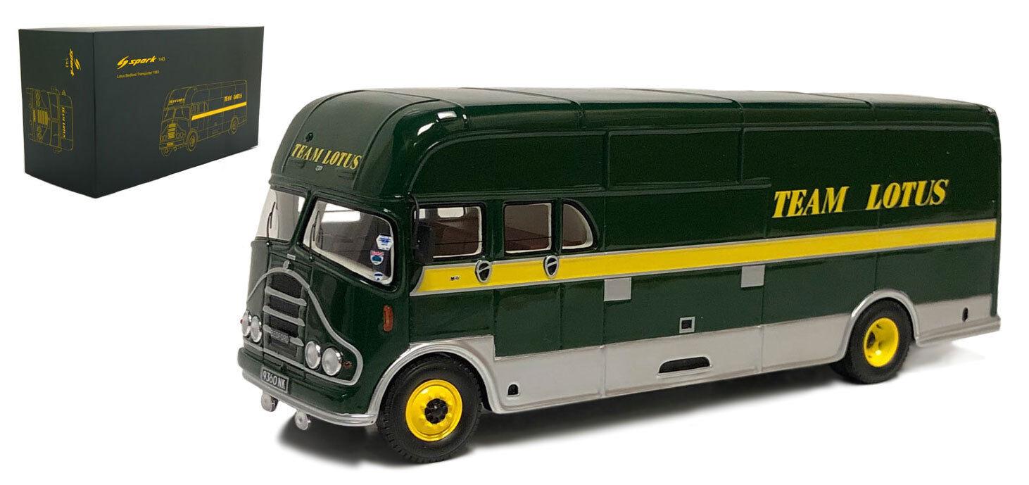 SPARK S2659 Bedford TEAM LOTUS F1. RACE TRANSPORTER 1963-1967 échelle 1/43 | Excellent (dans) La Qualité